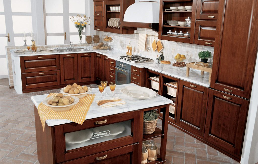 Traditional kitchens sydney malaga noce for Kitchen companies sydney
