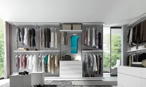 Walk In Wardrobes – Frameless 1