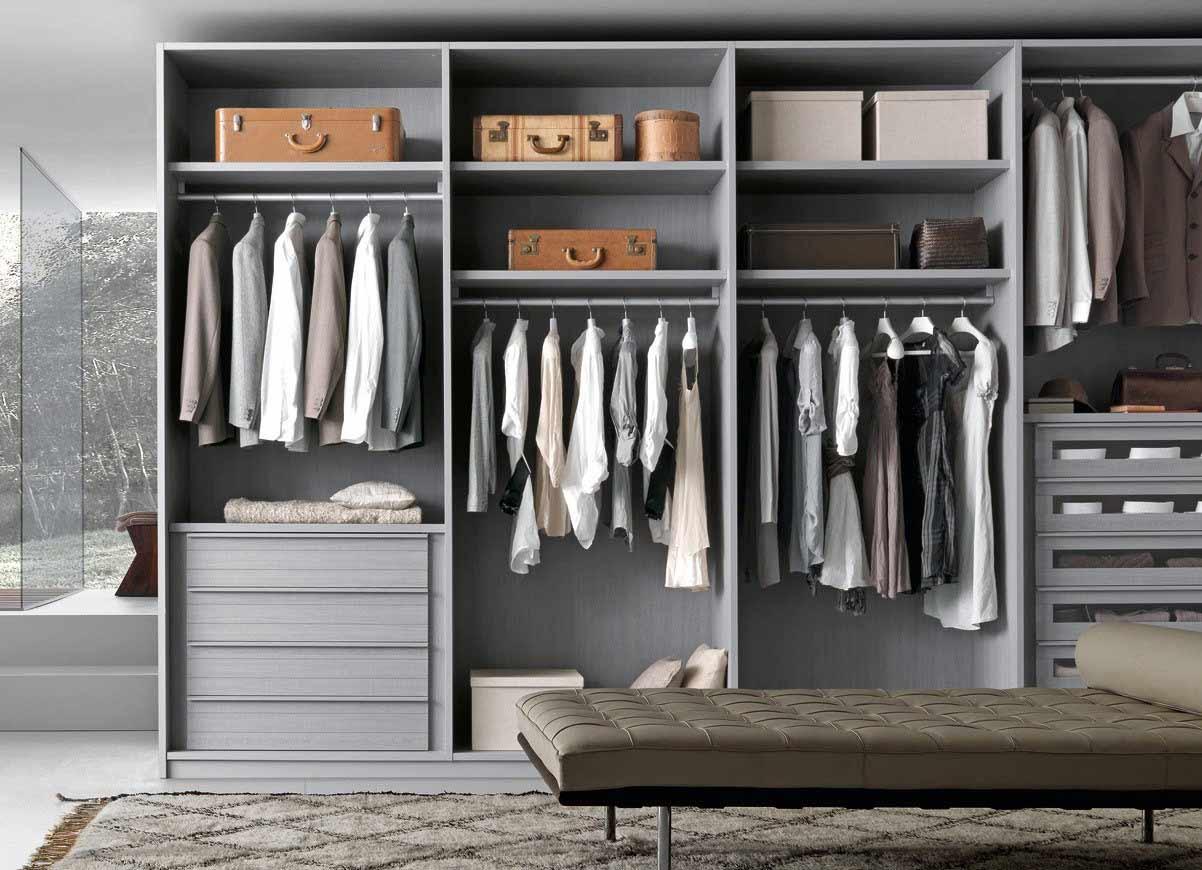 Italian designer built in wardrobes step for Italian closet design