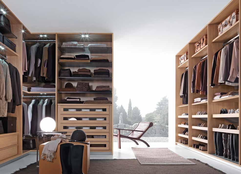 ... Eurolife Furniture By Italian Designer Built In Wardrobes Step ...