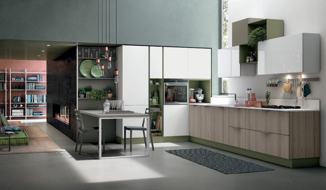 Modern kitchen Aliant 1